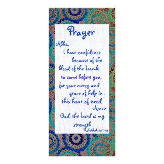 Strength Prayer Card Customized Rack Card
