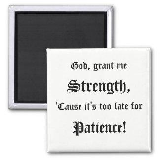 Strength Prayer Magnet