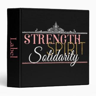 Strength, Spirit, Solidarity Binder
