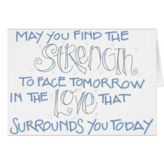 Strength / Sympathy Card