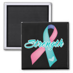 Strength - Thyroid Cancer Refrigerator Magnets
