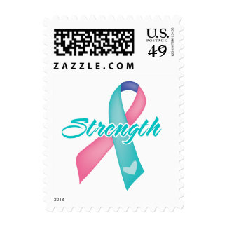 Strength - Thyroid Cancer Stamps