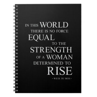 Strength Woman - Inspirational Quote Notebook Gift