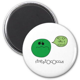 Streptococcus 2 Inch Round Magnet