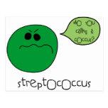 Streptococcus Postcard