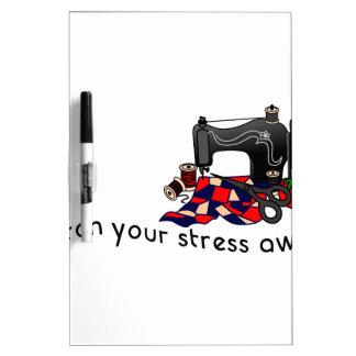 Stress Away Dry-Erase Board
