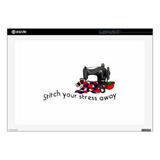 """Stress Away Skin For 17"""" Laptop"""