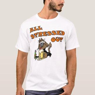 Stress Cat Full T-Shirt