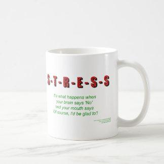 Stress Coffee Mugs