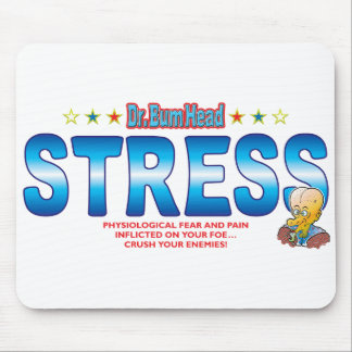 Stress Dr Bum Head Mousepads