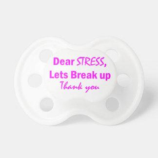 Stress Humor Pacifier