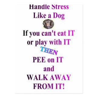 STRESS POSTCARDS