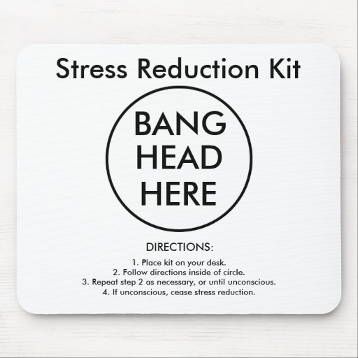 Stress Reduction Kit Mouse Pads