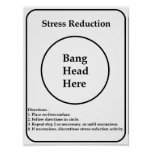 Stress Reduction Posters