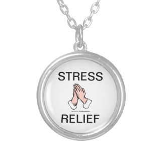 Stress Relief Praying Hands Necklace