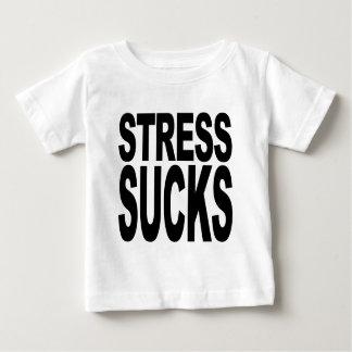 Stress Sucks Baby T-Shirt