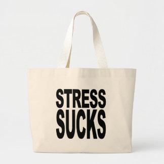 Stress Sucks Canvas Bag