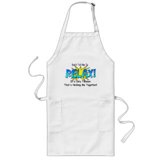 Stress Tension. Don't Tell Me To Relax. Long Apron