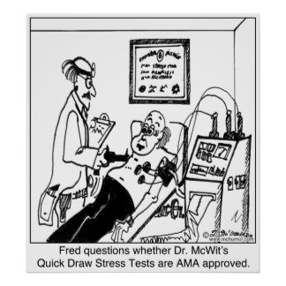 Stress Tests Not Approved by the AMA Poster