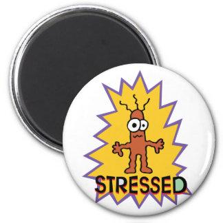 Stressed 2 Inch Round Magnet