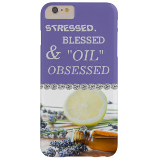STRESSED BLESSED & OIL OBSESSED CUTE  iPhone 6 Barely There iPhone 6 Plus Case