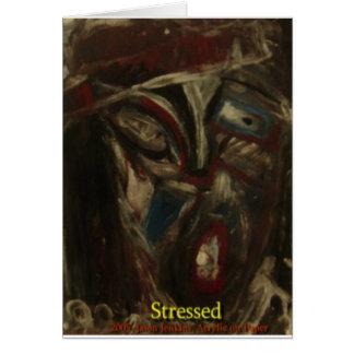 Stressed Card