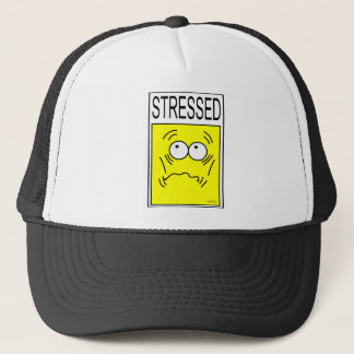STRESSED COLLECTION TRUCKER HAT