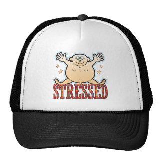 Stressed Fat Man Trucker Hat