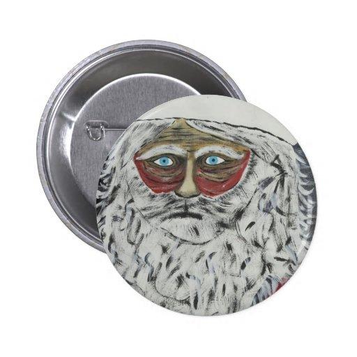 Stressed Out Santa Pin