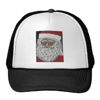 Stressed Out Santa Trucker Hat