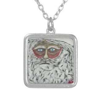 Stressed Out Santa Pendant