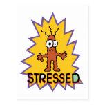 Stressed Postcard