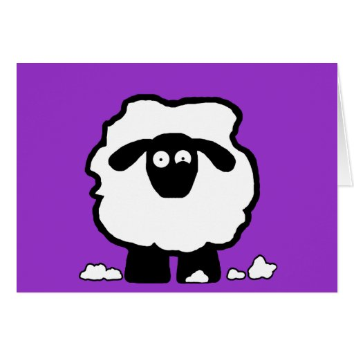 Stressed Sheep Greeting Cards