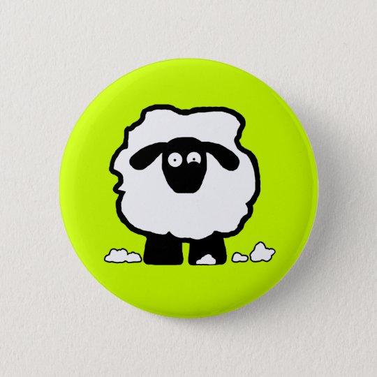 Stressed Sheep Pinback Button