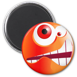 Stressed Smilie Magnet