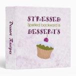 Stressed spelled backward is Desserts Binders