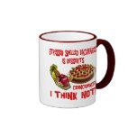 Stressed Spelled Bacwards is Desserts Ringer Coffee Mug