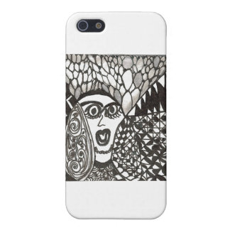 stressed woman iPhone SE/5/5s cover