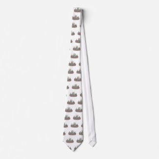 Stressful crowded workplace environment tie