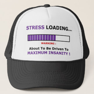 stressloading full trucker hat