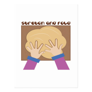 Stretch And Fold Postcards