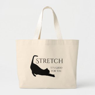 Stretch Large Tote Bag
