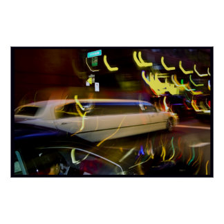Stretch Limo, San Francisco Poster