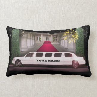 Stretch Limo with your Name Pillow