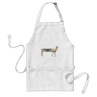 Stretch llama adult apron