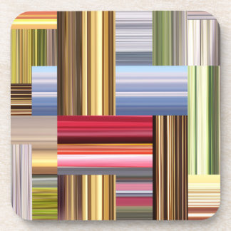 Stretch of Colors Beverage Coaster
