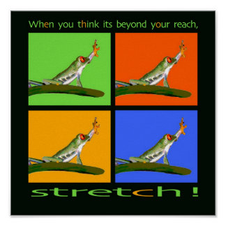 Stretch! Posters
