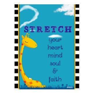 Stretch Your Faith Postcard