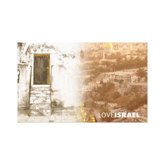 Stretched Canvas Print of Jerusalem