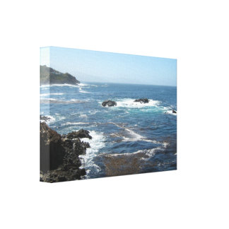 Stretched Canvas-Scenic Baja California Coastline Canvas Print